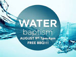 Water baptism 8-9-2015