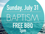 Water Baptism 7-31-2016